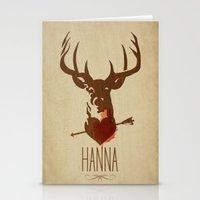 HANNA Film Tribute Poste… Stationery Cards