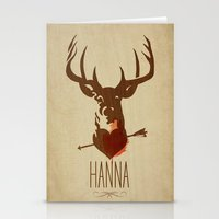 HANNA Film Tribute Poste… Stationery Cards