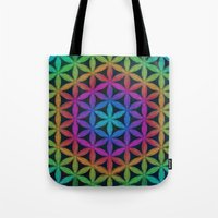 The Flower of Life (Sacred Geometry) 4 Tote Bag