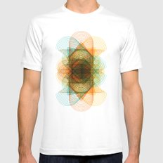 cones Mens Fitted Tee SMALL White