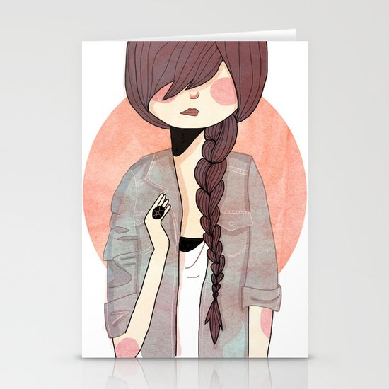 Some Fashion Stationery Card