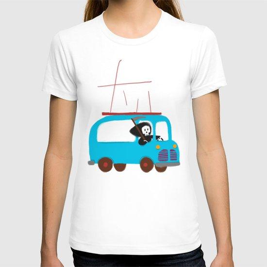 Death on wheels T-shirt