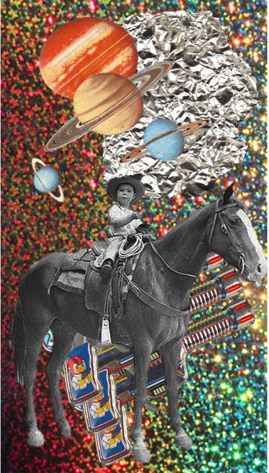 Cowboy and His Guns Art Print