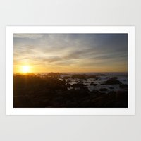 SUNSET - MONTEREY CALIFO… Art Print