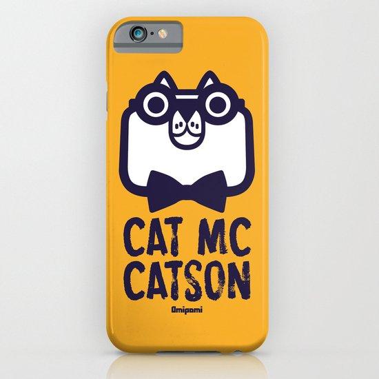 Cat Mc Catson iPhone & iPod Case
