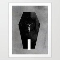 Shallow Grave Art Print