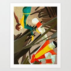 Kiotr Art Print