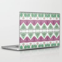 tribal Laptop & iPad Skins featuring Tribal  by Marlidesigns