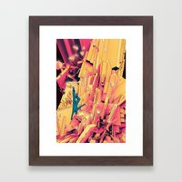 Break Up Framed Art Print
