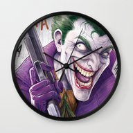 Joker CCXP 2014 Wall Clock