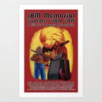 JBM Memorial Summer Slam 2015 Art Print