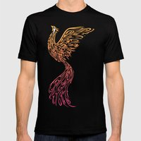Phoenix Mens Fitted Tee Black SMALL