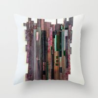 Conveyor Belt Throw Pillow