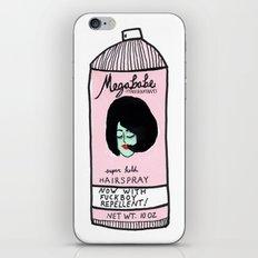 Megababe Hairspray. iPhone & iPod Skin