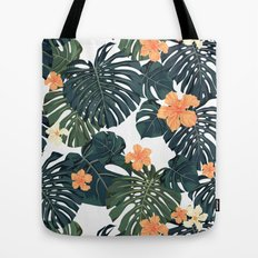Tropical retro Tote Bag