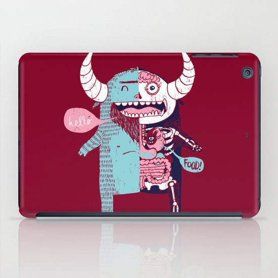 All Monsters are the Same iPad Case