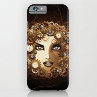 Steampunk Girl Portrait  iPhone 6 Slim Case