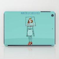 Mantén la cabeza fría iPad Case