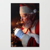 A Glass Of Cheer Canvas Print