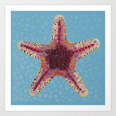 Sea Star 2 Art Print
