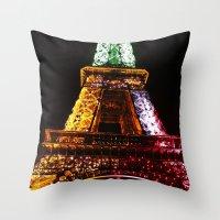 Parisian Mosaic - Piece … Throw Pillow