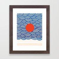 Oceanix Framed Art Print