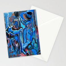 The Blue Cadaver Stationery Cards