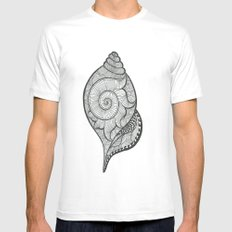 shankha Mens Fitted Tee White SMALL