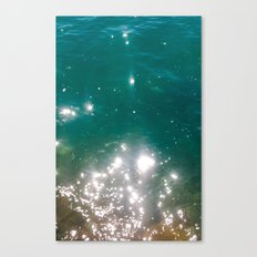 The color of the sea Canvas Print