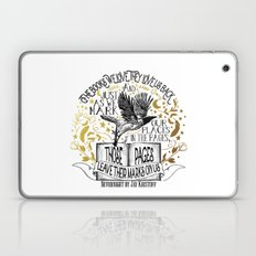 Nevernight - Books Love Us Laptop & iPad Skin