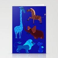 Animal Fever! Stationery Cards