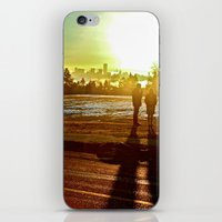 A Mix Of Sun And Snow iPhone & iPod Skin