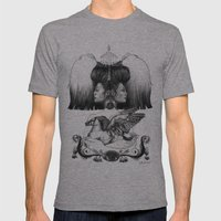 Gemini Mens Fitted Tee Athletic Grey SMALL