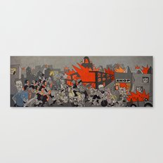 2011 London Riots Canvas Print