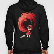 Red Cape Hoody
