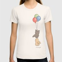 Fly Womens Fitted Tee Natural SMALL