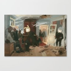 The House of the Last Cartridge Canvas Print