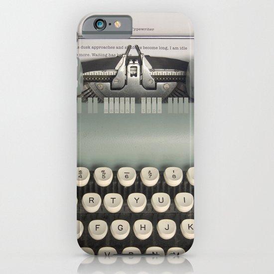 American Typewriter iPhone & iPod Case