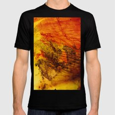 Wing SMALL Mens Fitted Tee Black