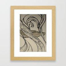 Crocodylus Framed Art Print