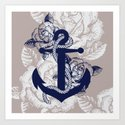 Anchor Art Art Print