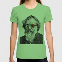 Brahms In Reel To Reel G… Womens Fitted Tee Grass SMALL