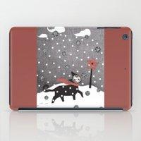 Snow Cat iPad Case