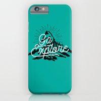 Go To Explore iPhone 6 Slim Case