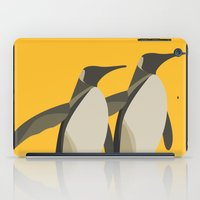 Penguins mate for life iPad Case