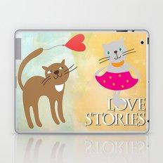 Cats - love stories Laptop & iPad Skin