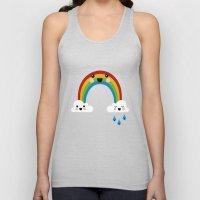 Rainbow Cuteness Unisex Tank Top