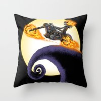 The Ride. Throw Pillow