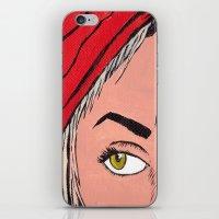 Red Secret iPhone & iPod Skin