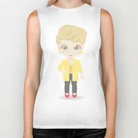 Girls in their Golden Years - Blanche Biker Tank